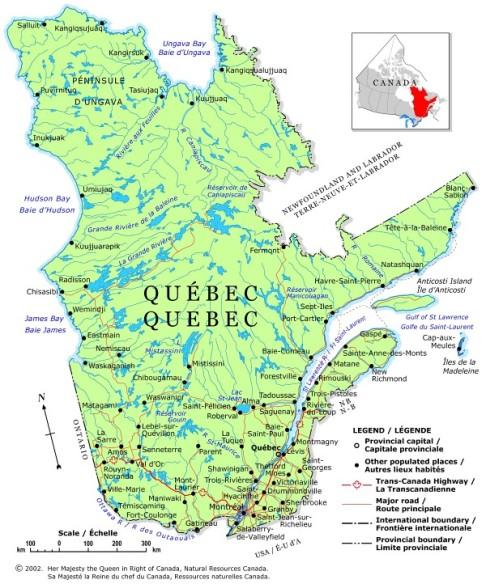 Quebec_Regional_Map