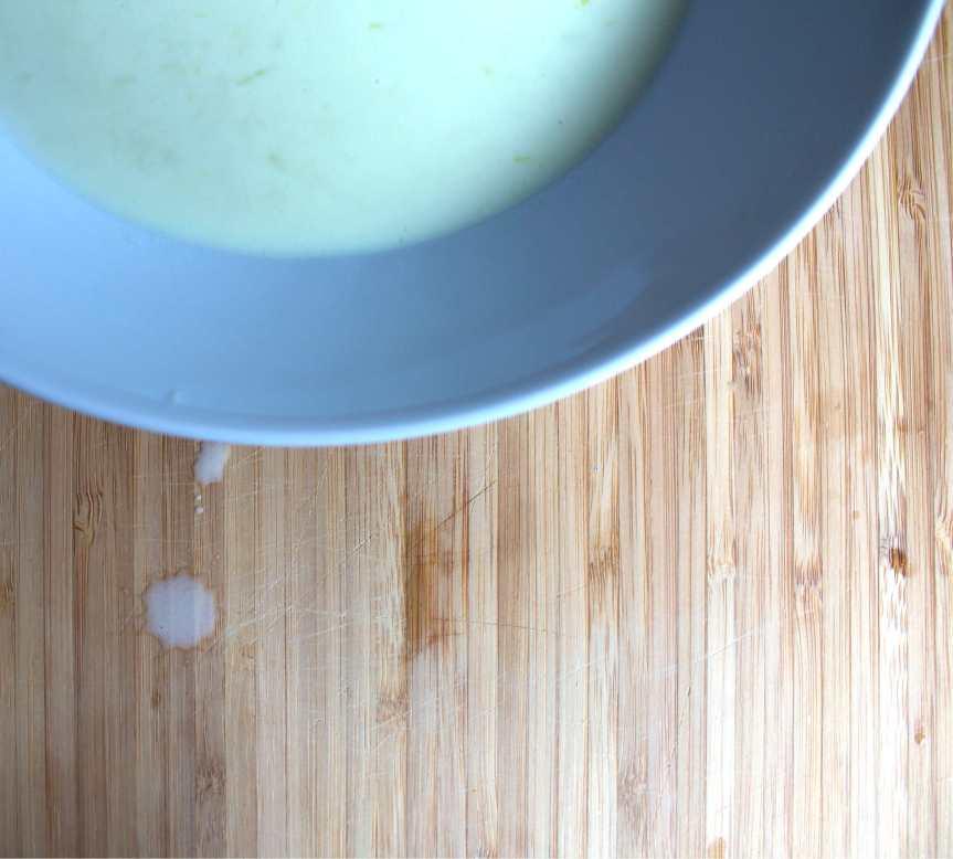 My three-onion soup